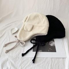 양털 플리스 귀덮개 귀달이 방한 모자_(304352)