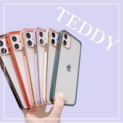 [메이드웰케이스]아이폰12시리즈 테디 투명 케이스