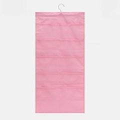 15칸 옷장 수납포켓(핑크)/속옷정리 걸이형수납함