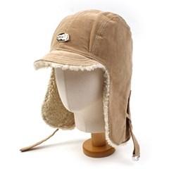 Beige Corduroy Trooper Hat 귀달이모자