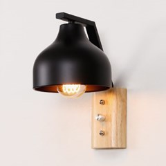 LED 미르프 벽등 블랙_(1980058)