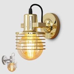 LED 헤링본 1등 벽등 골드 크롬_(1980043)