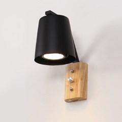 LED 미밍 벽등 블랙_(1980027)