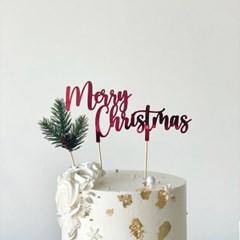 캘리크리스마스픽_B [3color] [크리스마스,케이크토퍼]