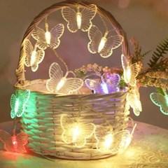 크리스마스 나비 앵두 줄조명 파티 라이트 트리전구 가랜드등