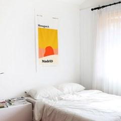 MonagustA 패브릭 포스터_마드리드