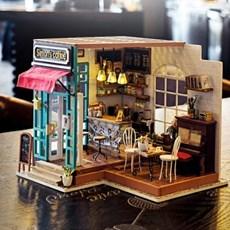 한글 설명서 DG109 SIMONs COFFEE 커피숍 D.I.Y 미니어처 하우스
