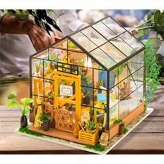 한글 설명서 DG104 CATHYs FLOWER HOUSE D.I.Y 미니어처 하우스