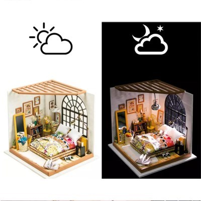 DG107 ALICE DREAMY BEDROOM 침실 D.I.Y 미니어처 하우스
