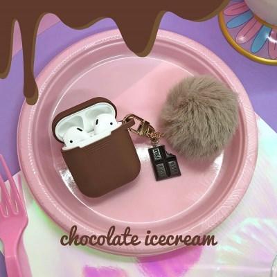 초콜렛 아이스크림 키링 / 에어팟케이스