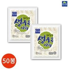 면사랑 사누끼 생우동 사리 200g x 50봉