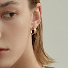 Rough Waves C Earrings (925 Silver).04