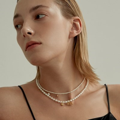 Love & Hope Classic Pearl Necklace (925 Silver).08