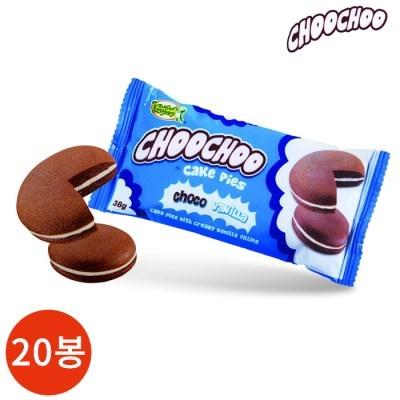 츄츄 케익파이 초코 38g x 20봉