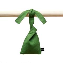 scented linen pouch GREEN / london florist