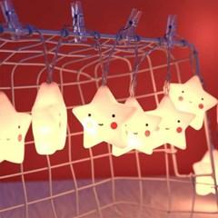 아기별 줄조명 무드등 가랜드조명 LED 앵두 전구 줄램프 20구