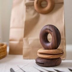 원목 도넛 밀봉 집게 감성 인테리어 소품