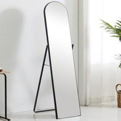 준우드 보잉 감성돋는 원형 전신거울 블랙/화이트 전신경 거울