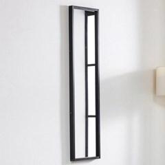 준우드 벽걸이1200 블랙/화이트/메이플/레드 벽걸이 거울
