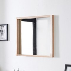 준우드 벽걸이600 블랙/화이트/메이플/레드 벽걸이 거울