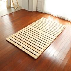 4단접이식 저상형 원목 침대프레임 슈퍼싱글 매트리스깔판