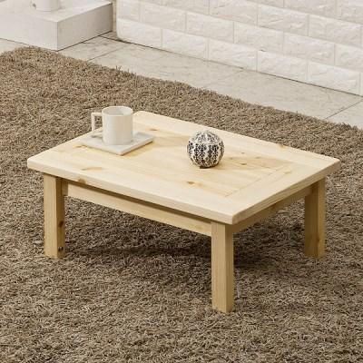 포메리트 편백나무 접이식 테이블 600