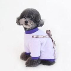 [ODD PET][ODD STUDIO] 또또또 뽀글이 가방 T - 해또(퍼플)