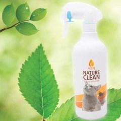 자연싹(bn) 안심살균 소독탈취제 500ml (고양이)