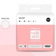 바른패드(bn) 핑크 50매(40*50) 레몬향 x 4개