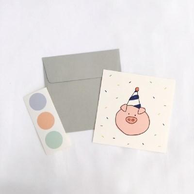 [card] piggy