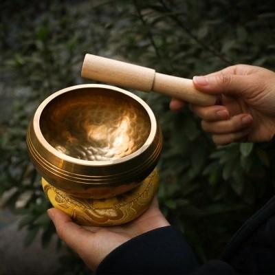 네팔 티벳 싱잉볼 씽잉볼 명상종 요가 종 볼 힐링 테라피 명상 도구