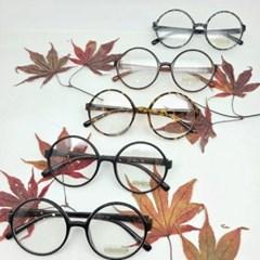 호피 레오파드 블랙 도수없는 투명 가벼운 패션 안경