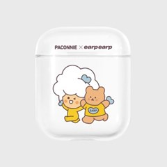 paconnie and covy exciting-clear(Air pods)