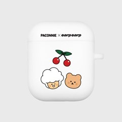 paconnie and covy cherry-white(Air pods)