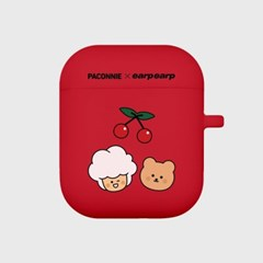 paconnie and covy cherry-red(Air pods)