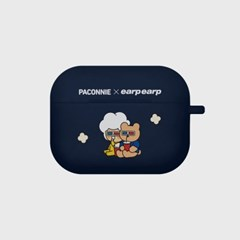 paconnie and covy 3D glass-navy(Air pods pro)