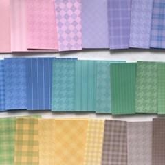패턴 떡메모지 25종세트