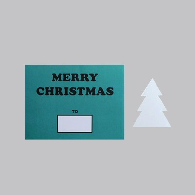 DIY CHRISTMAS CARD (GREEN)