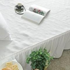 사계절 고급스러운 클레오 화이트 침대 패드 (SS/Q)