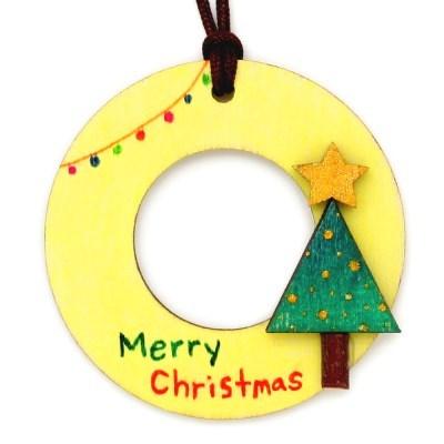 크리스마스 목걸이 만들기-트리