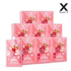 슈퍼엑스 젤리델리 곤약젤리 코코&복숭아 8박스 (150g x