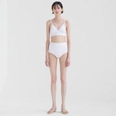 Triangle Bikini - White