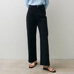 Comfy Denim Pants - Deep Grey
