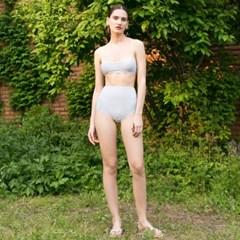 Square Bikini - Dustblue