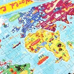 [크로커다일크릭] 세계도시 200피스 포스터 퍼즐 / 5세