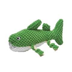 패츠워크 장난감 그린 상어 소_(569895)