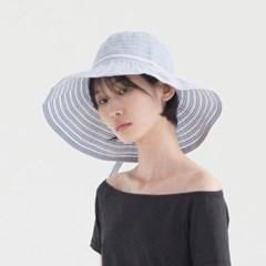 Stripe Bucket Hat - Blue