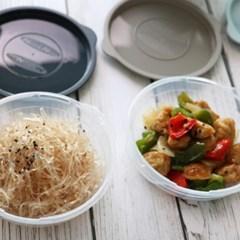 스마트 냉동밥 전자레인지용기 450ml 4개