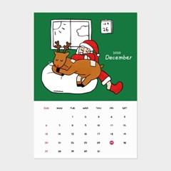 [카멜앤오아시스] 산타 루돌프 크리스마스 12월 달력