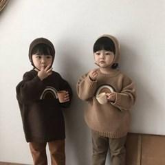 랄) 무지개 아동 니트티